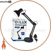 Delux Светильник настольный DELUX TF-07_E27 черный