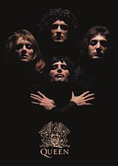 Настенный плакат Queen 44,5 х 31,5 см.