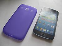 Чехол силиконовый Samsung i8262 Galaxy Core I8260 фиолетовый