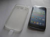 Чехол силиконовый Samsung i8262 Galaxy Core I8260 white
