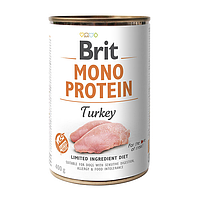 Влажный корм для собак Brit Mono Protein Turkey