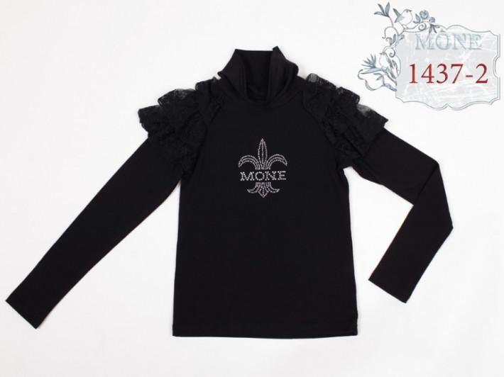 Черный гольф для девочки  тм Моне р-р 134