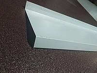Отлив оконный металлический с полимерным покрытием 100х2000 мм.
