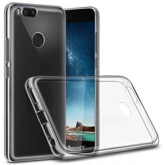 TPU чехол iPaky Clear Series (+стекло) для Xiaomi Mi 5X / Mi A1