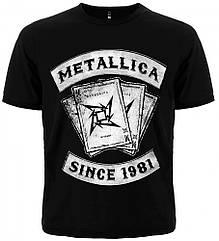 Футболка Metallica (since 1981), Размер M