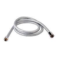 Душевой шланг силиконовый Q-tap 0052-A 160см Серый металлик