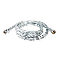 Душевой шланг силиконовый Q-tap 0052-C 200см Серый металлик