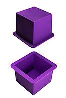 """Силиконовая форма для выпечки """"Куб"""" 8,5 см высота 6,5 см ОПТ"""