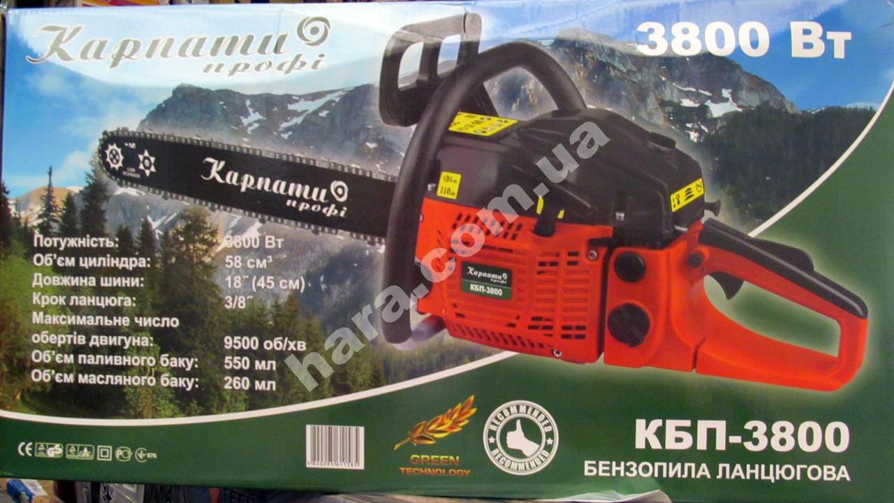 Бензопила Карпаты КБП-3800 (3800 Вт)