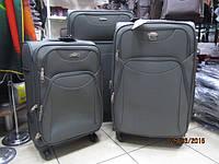 Набор из 3 серых чемоданов Paulaner