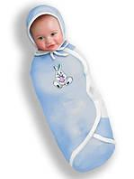 Пеленка-конверт фланелевая, конверт для новорожденного Deep Sleep Flannel