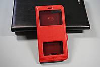 Чехол книжка для Xiaomi Redmi 6A (Global) Ксиоми Сяоми цвет красный