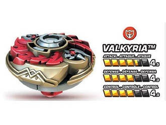 Волчек нападающий Валькирия команды Паладин - Valkiria, Team Paladin, Battle Strikers, Mega Bloks - 143530