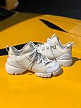 Стильные женские кроссовки Dior White, фото 2