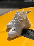 Стильные женские кроссовки Dior White, фото 5