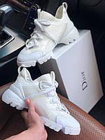 Стильные женские кроссовки Dior White