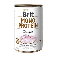 Влажный корм для собак Brit Mono Protein Rabbit