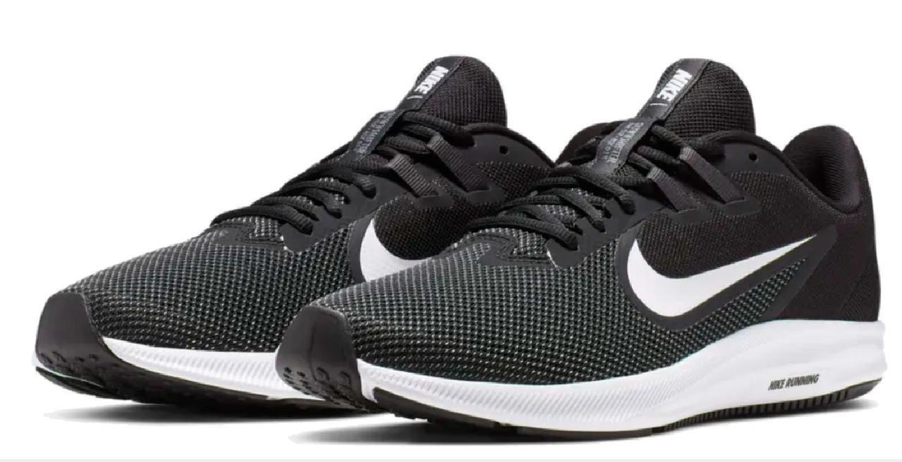 Nike Downshifter 9 Air Zoom Оригинальные кроссовки с дышащим верхом большие размеры AQ7481-002