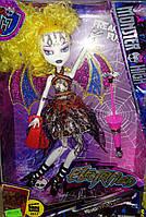 Кукла Монстер Хай Лагуна Блю(Monster High) 27см шарнирная, аксессуары, 4 вида (с желтыми волосами), MH 516