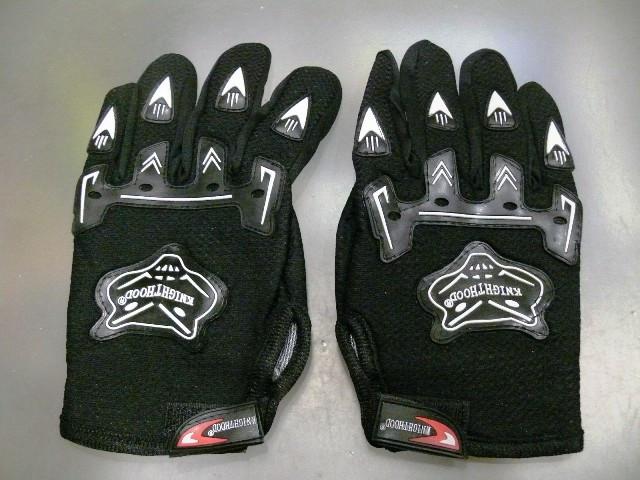 Перчатки черные