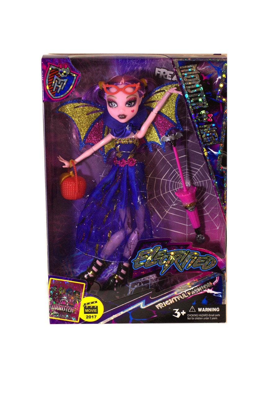 Кукла Монстер Хай Дракулаура(Monster High) 27 см шарнирная, аксессуары, 4 вида,MH 516