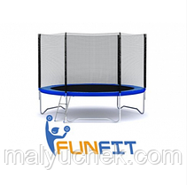 Батут- Fun Fit 252 см сіткa + драбинка