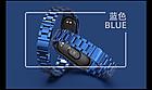 Ремешок Xiaomi Mi Band 4 / 3 MiJobs Metal Plus металлический крупное звено Синий [1690], фото 2