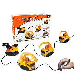 Детский индукционный автомобиль Induction Truck Желтый R130360