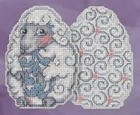 """Набор для вышивания """"Sheep Egg//Овечка"""" Mill Hill JS181815"""