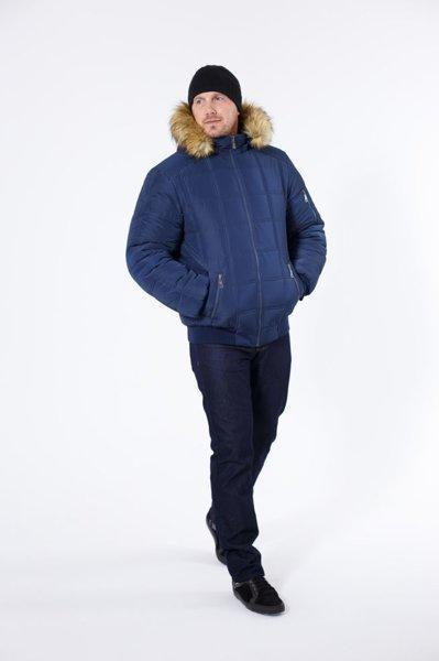 Зимние мужские пуховики  большого размера  48 -64  синий