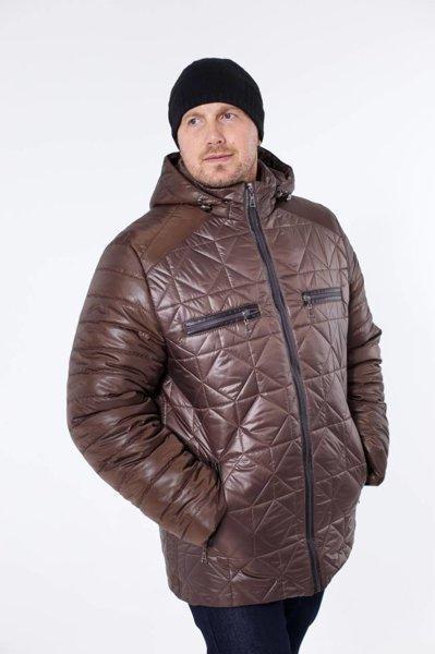 Недорогие зимние куртки мужские от производителя  48-58  коричневый