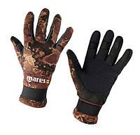 Перчатки для подводной охоты Mares Amara Camo Brown 2 мм