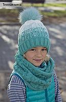 Зимняя шапка на флисе для девочек от 7-ми лет, женщин