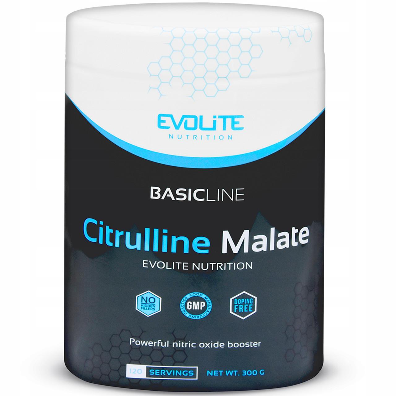 Цитруллин Evolite Nutrition Citrulline Malate  300g (Crazy Orange)