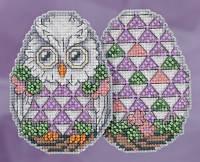 "Набор для вышивания ""Owl Egg//Сова"" Mill Hill JS181814"