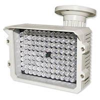Ночная подсветка к системам видео наблюдения LUX 114led, ИК прожектор на кронштейне, светит на 80 м