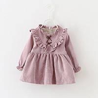 Детское платье из микровельвета размер 86.