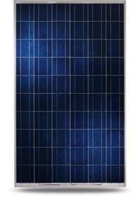 Поликристалическая сонячна батарея YINGLI 250ВТ / 24В YL250P-29B