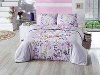 Постельное белье Nazenin Cottonland - Inga лиловое евро