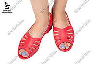 Женские туфли лодочка красные  ( Код : ПЖ-22)