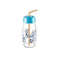Дитяча пляшка для напоїв з трубочкою Sarina 250мл