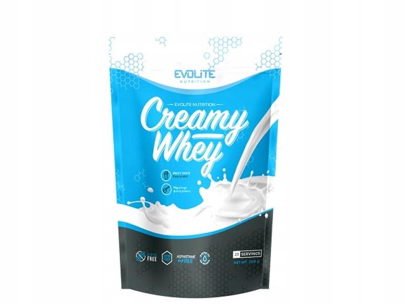 Протеин Evolite Nutrition Creamy Whey  700g(Caramel Macchiato)