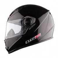 Шлем (интеграл с очками+подкачка) LS2 FF322 CONCEPT II черный глянцевый