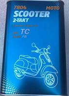 Масло Mannol SCOOTER 2t 1л