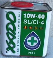 Масло ХАДО 4Т (синтетика) 10W40 SL/CI-4 0,5л (зеленое)