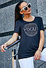 Женская футболка со стразами (3603-3609 svt), фото 5