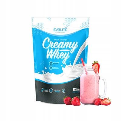 Протеин Evolite Nutrition Creamy Whey  700g(Strawberry Milkshake)