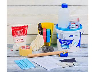 Жидкий наливной акрил Plastall Classic ТМ Просто и Легко в наборе для реставрации ванн 1.7 м - R133949