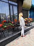 Жакет жіночій  на блискавці  з бавовни ,женский жакет на молнии из жатого хлопка большого размера, фото 6