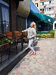 Жакет жіночій  на блискавці  з бавовни ,женский жакет на молнии из жатого хлопка большого размера, фото 10